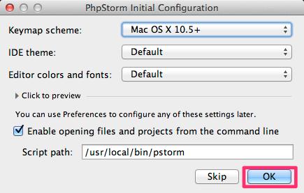 PhpStorm Initial Configuration-1