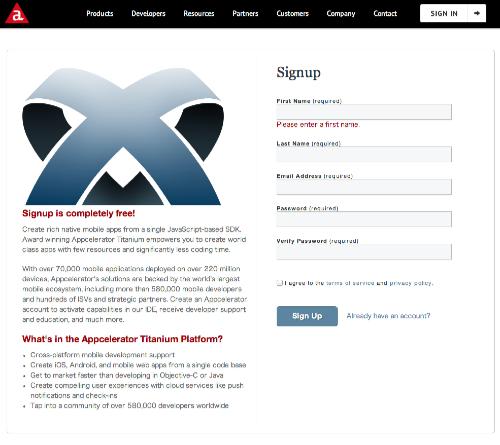 Sign_Up_for_an_Appcelerator_Developer_Account
