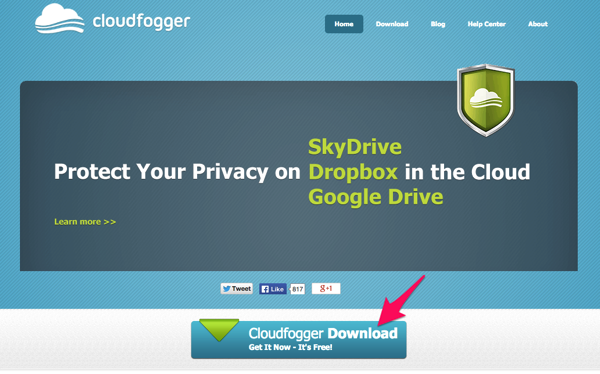 Cloudfogger Free File Encryption for Dropbox and the Cloud