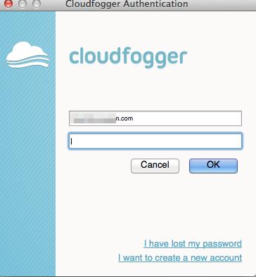 Cloudfogger Authentication と クラウドファイルを暗号化 セキュリティを高める Cloudfogger